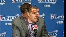 Coach Joerger fond en larmes après le Sweep des Spurs