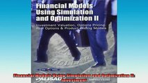 READ book  Financial Models Using Simulation and Optimization II Investment Full Free