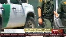 """Drug runners """"super tunnel"""" discovered in San Diego"""