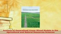 PDF Download Generalized Linear Mixed Models: Modern