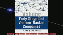 READ FREE Ebooks  Valuing Early Stage and Venture Backed Companies Full Free