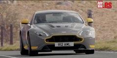 Aston Martin V12 Vantage S: por primera vez, ¡en acción!