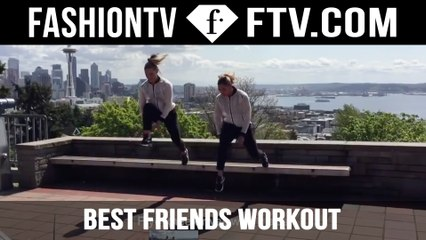 The Best Friends Workout With TwoBadBodies | FTV.com