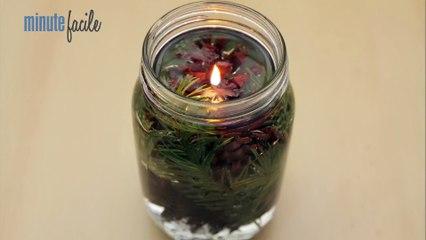 Déco Brico Jardinage : Fabriquer une lampe à l'huile naturelle