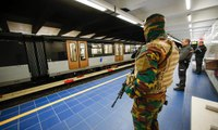 Brussels' Maelbeek metro station opens a month after bombing – video