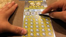 $5 Million Jackpot Scratcher CA Lottery Win Caught with