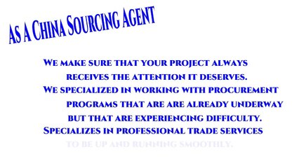 China Sourcing Agents - Sourcing In China