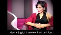 Meera English Interview Pakistani Funny Clips Video