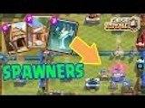 Clash Royale | Spawner Deck | Spawner Deck Counter For Arena 3 And Arena 2| Clash Royale Gameplay |