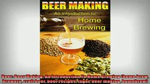 Free PDF Downlaod  Beer Beer Making An Introduction To Home Brewing home brew brewery craft beer beer  BOOK ONLINE
