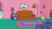Les Simpson parodient le monde magique de Disney le temps d'un générique