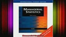 READ book  Managerial Statistics Full EBook