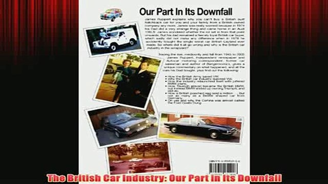 Free   The British Car Industry Our Part in Its Downfall Read Download