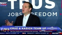 """Ted Cruz: Kasich Campaign """"Pulling Out of Indiana"""" - Kasich: """"Vote for Me, Indiana!"""""""