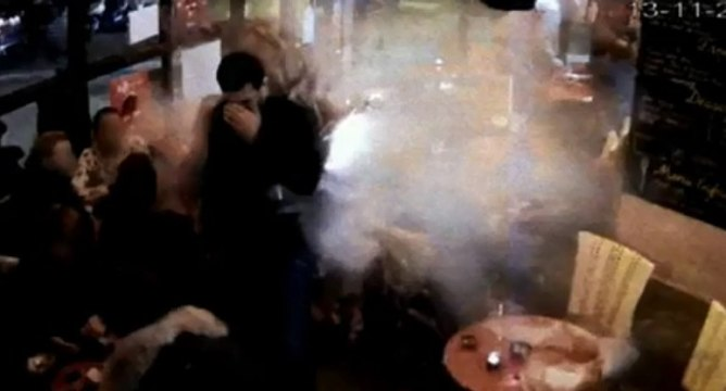 Inédit : M6 diffuse l'explosion de Brahim Abdeslam au comptoir Voltaire