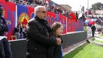inside GFCA : Gazélec Ajaccio / SC Bastia