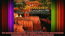 DOWNLOAD FREE Ebooks  The Inclusive Classroom Strategies for Effective Differentiated Instruction LooseLeaf Full Ebook Online Free