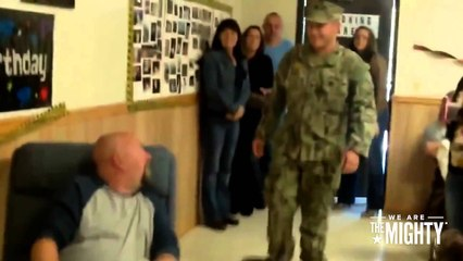 Troops surprise their fathers | Military Insider