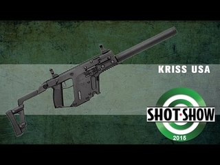 KRISS USA's Latest Vector Carbine Takes Glock Magazines | SHOT Show 2015