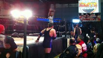 """All That"" Alan Steel vs. ""King of POW"" Chris Lexx vs. Derrick ""By God, Greater Than Great"" King - Marvel Elite Wrestling - MEW Heavyweight Championship"