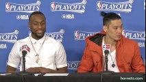 Jeremy Lin & Kemba Walker Postgame Interview _ Heat vs Hornets _ Game 4 _ 2016 NBA Playoffs