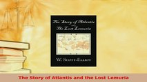 PDF  The Story of Atlantis and the Lost Lemuria  Read Online