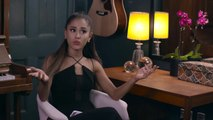 Ariana Grande and Jimmy have a conversation in her dressing room while lip-syncing popular songs.