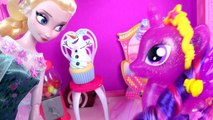 MLP Pinkie Pie Poppin Jumpscare Pop Out Cake Game with My Little Pony Twilight + Queen El