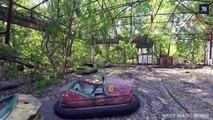 Tchernobyl : des lieux fantômes survolés par les drones