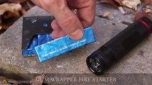 Cosa si può fare con una pila e la carta di una gomma? Pazzesco