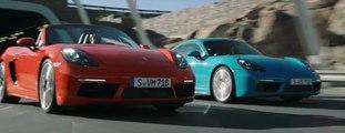 La gama 718 de Porsche, Cayman y Boxster, de 'pique'