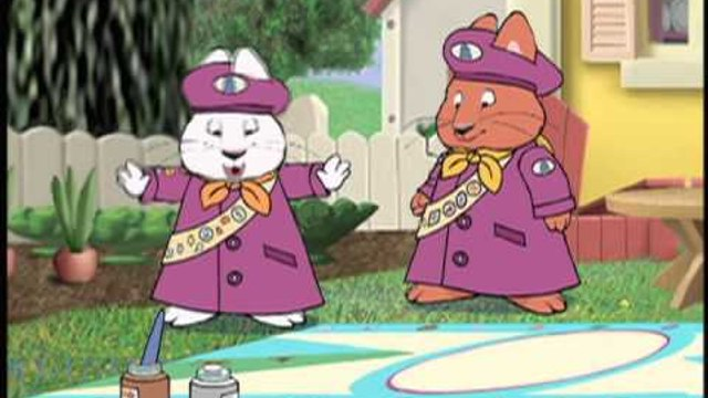 Max & Ruby - Grandma's Berry Patch / Ruby's Bunny Scout Banner / Ruby's Detective Agency - 39
