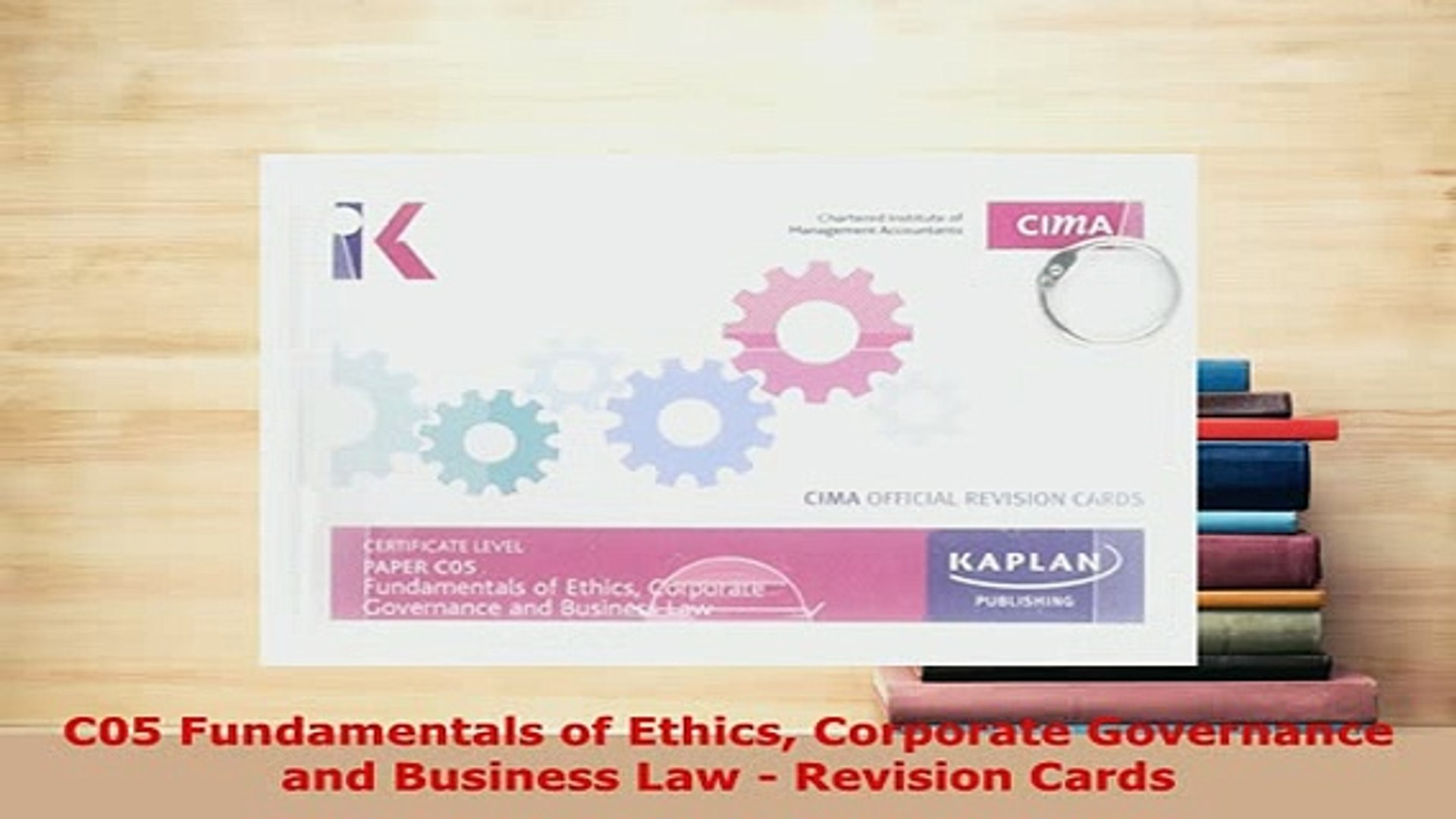 PDF C05 Fundamentals of Ethics Corporate Governance and Business Law  Revision Cards Read Online