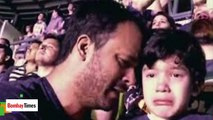 Coldplay Concert ,  Little Boy Cries During Coldplay Concert