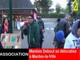 """""""Mantois debout"""" délocalisé à Mantes-la-Ville"""