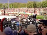 F95 vs. Oberhausen - F95 vs. Oberhausen - Aufmarsch der Polizei 3