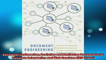 READ book  Document Engineering Analyzing and Designing Documents for Business Informatics and Web  FREE BOOOK ONLINE