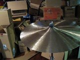 "Paiste Prototype T20 19"" Crash Cymbal, New"