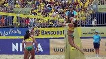 Newly-named Brazilian Beach Volleyball Olympic team validates Rio 2016 berth - YouTube