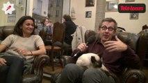 Bar à chats, ronronthérapie... Jamy Gourmaud nous explique tout