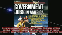 EBOOK ONLINE  Government Jobs in America 2012 Jobs in US States  Cities and US Federal Agencies  DOWNLOAD ONLINE