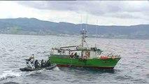 La Guardia Civil patrulla el Mar Cantábrico