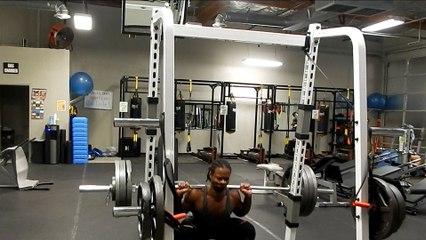 Heavy Leg Workout @148lbs