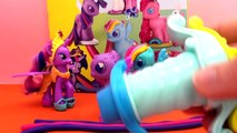 Jeu My Little Pony Play Doh / Fabriquer des Poneys / My Little Pony français