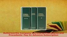PDF  Butterworths Company Secretarial Procedures and Precedents PayInAdvance Subscription  EBook