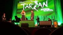 Tarzan und Jane - Alexander Klaws Rolle ist Tarzan und Tessa Sunniva van Tol spielt Jane