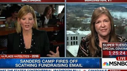 Jane Sanders slams mass media - 'We are in it till the convention' (VIDEO)