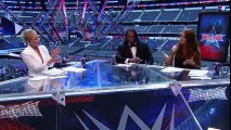 Lita, Booker T and Renee Young welcome the WWE Universe to WrestleMania  WrestleMania 32 Kickoff