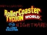 Roller Coaster Tycoon World Gameplay Part 4 Coasters - IS THIS PLANET COASTER NiGhTmArE!