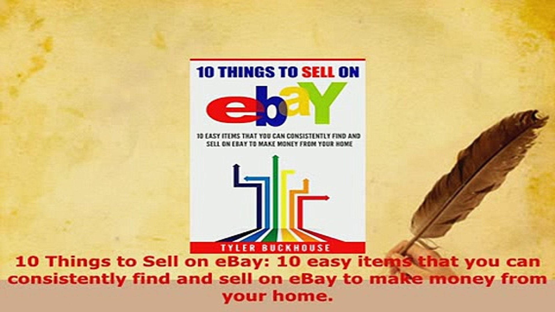 Pdf 10 Things To Sell On Ebay 10 Easy Items That You Can Consistently Find And Sell On Ebay Download Online Video Dailymotion